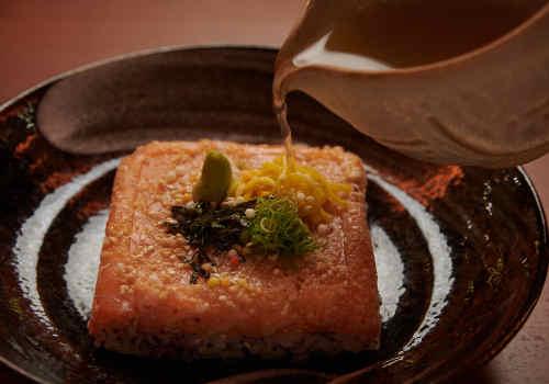 Kakushi Sushi Cha-zuke