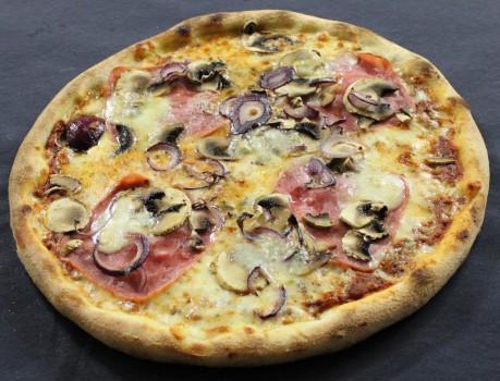Pizza Amore Mio (Truthahnschinken)
