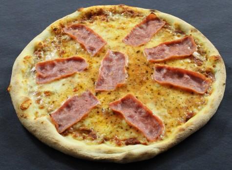 Pizza Prosciutto (Truthahnschinken)