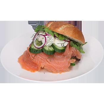 Italiaanse bol salmone