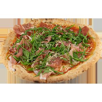 Pizza crudo