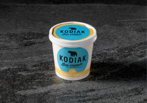 Kodiak Classic vanilla | 125 ML