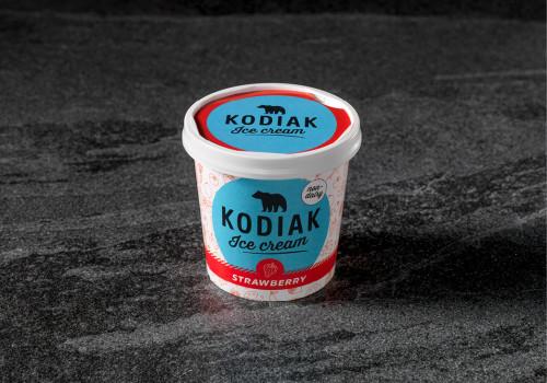 Kodiak Strawberry non dairy | 125 ML