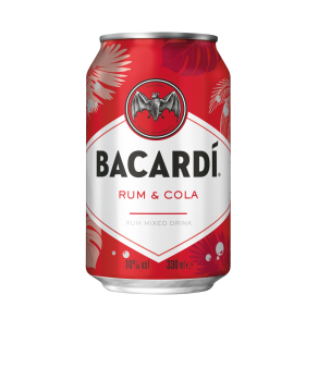 Bacardi Cola 0,33l<sup>C,F</sup>