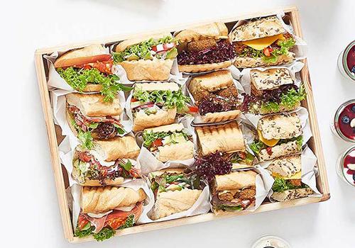 Cateringplatte Vegan / Vegetarisch