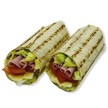 Wrap Käse-Schinken-Streifen