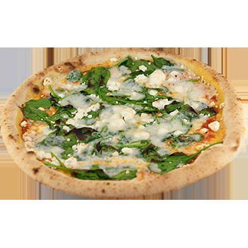 Pizza formaggio di Capra
