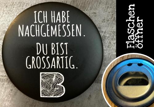 """Flaschenöffner """"Großartig"""""""