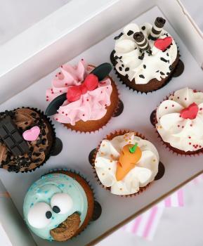 6 Cupcakes Pavarotti Dolce