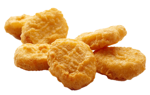 6 x Chicken Nuggets  (y,x)