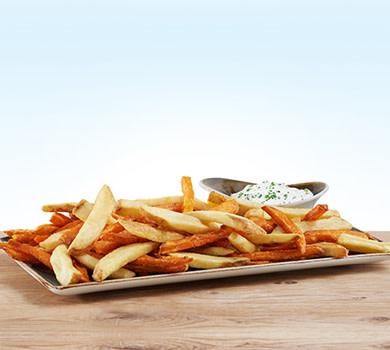 1 Pfund gemischt Süßkartoffel-Fritten/Fritten