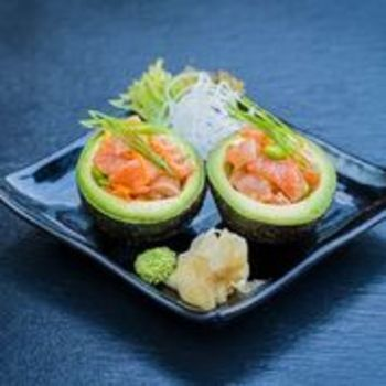 Sake Avocado Boats