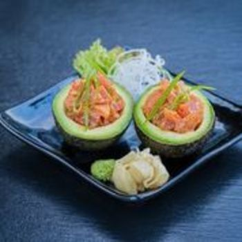 Maguro Avocado Boats