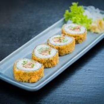 Sake Crispy Rolls