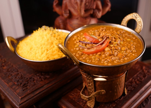 Vegetable Dhal Tarka