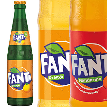 Fanta Mandarine 1,0l