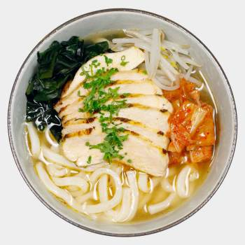 Spicy Chicken Udon
