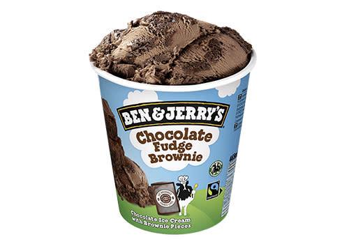 Subway Deventer Centrum - Ben & Jerry's Chocolate Fudge Brownie 465 ml