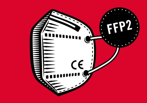 FFP2 NR Partikelfiltrierende Halbmaske (Faltmaske) SBL902