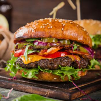 Spicy ´N´ Cheese Burger