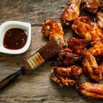 BBQ Chicken Wings (12 Stück)