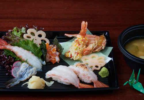 Ebi-Ajikurabe  Menü