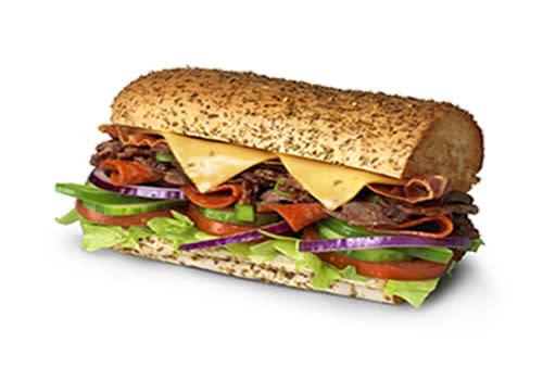 Subway Deventer Centrum - Spicy Steak & Bacon 15 cm