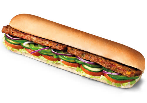 Subway Deventer Centrum - Vegan Patty 30 cm
