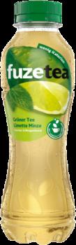 Fuze Tea Grüner  Tea Limette Minze 0,4l