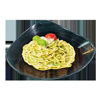 Spaghetti Pesto Basilikum