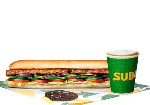 Subway Deventer Centrum - Menu Vegan Patty 30 cm