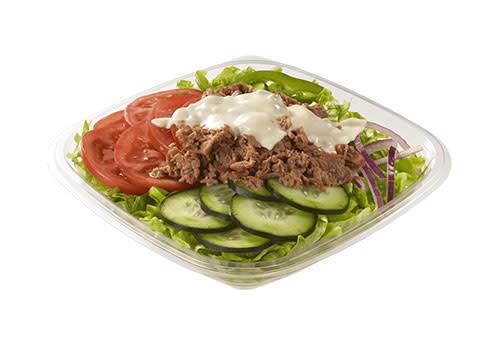 Subway Deventer Centrum - Steak & Cheese salade