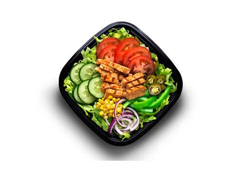 Subway Deventer Centrum - Chicken Fajita salade