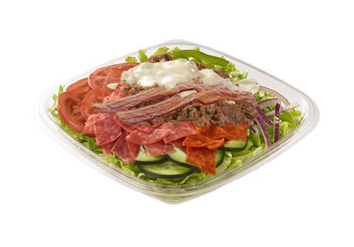 Subway Deventer Centrum - Spicy, Steak & Bacon salade