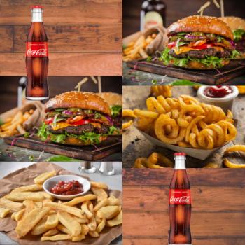 Partner-Burger-Menü