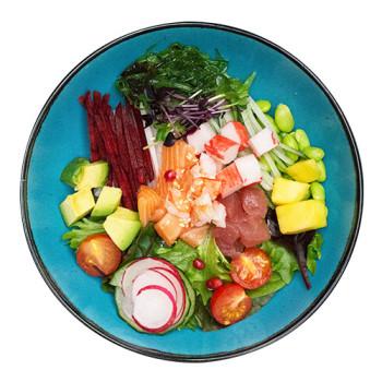 Poke Bowl Seafood Mix (mit Lachs, Surimi und Tuna)