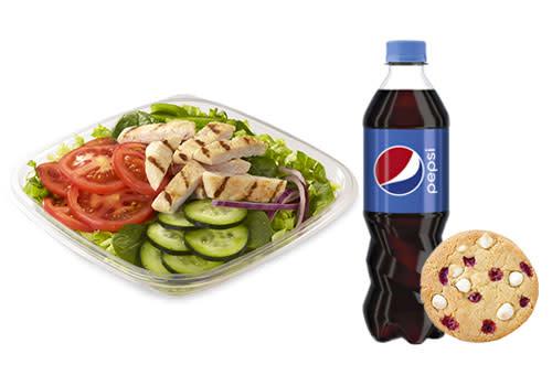 Subway Deventer Centrum - Menu Chicken Filet salade