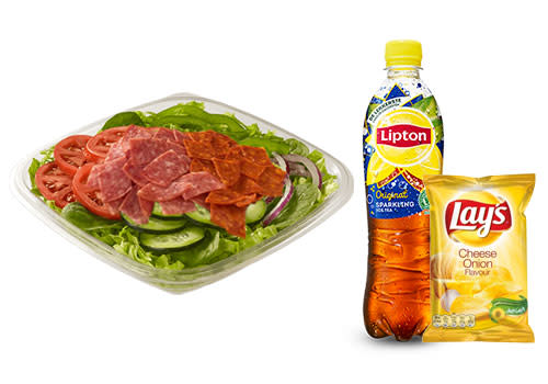 Subway Deventer Centrum - Menu Spicy Italian salade