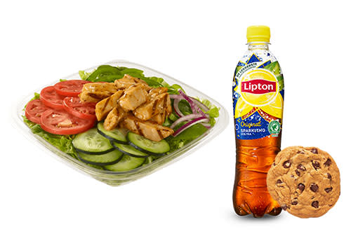 Subway Deventer Centrum - Menu Chicken Fajita salade