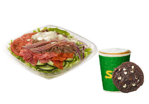 Subway Deventer Centrum - Menu Spicy Steak & Bacon salade