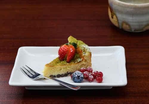 Azuki-Chocolate Cheesecake