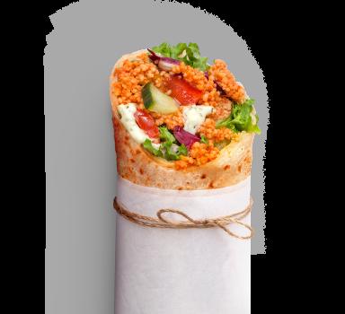 Köfte Vegan Wrap