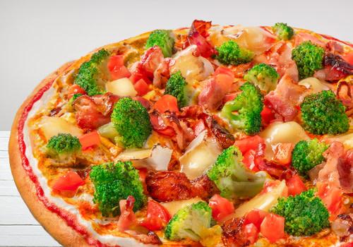 Pizza Bacon Genuss