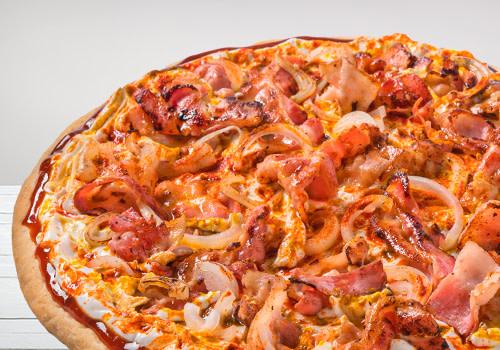 Pizza BBQ & Bacon