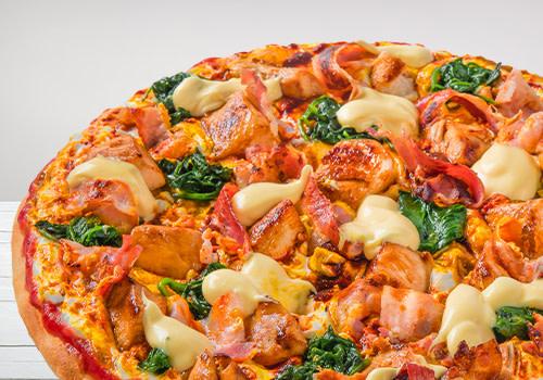 Pizza Crazy Chicken (Big Monkey)