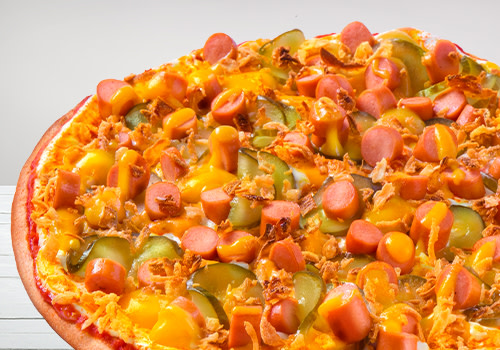 Pizza Hot Dog (Big Monkey)