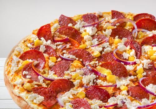 Pizza Sucuk Deluxe