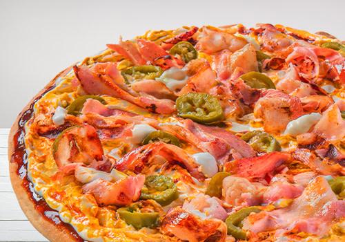 Pizza Vulcano (Jumbo)