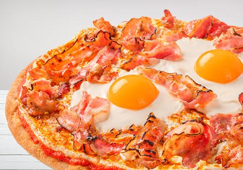 Pizza Bacon & Eggs
