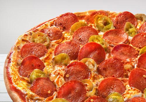 Pizza Diablo (Big Monkey)